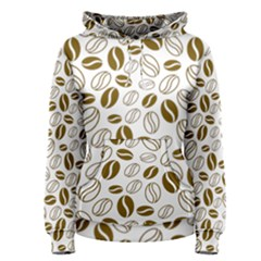 Coffee Beans Vector Women s Pullover Hoodie
