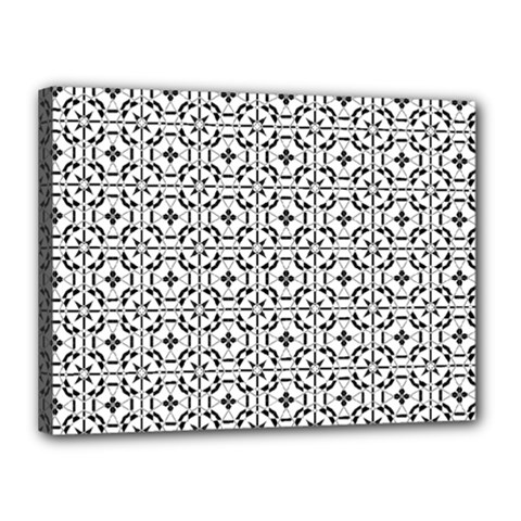Decorative Ornamental Canvas 16  X 12  (stretched)