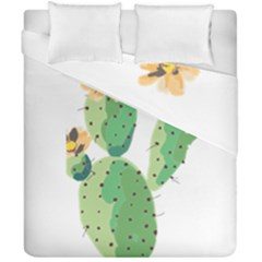 Cactaceae Thorns Spines Prickles Duvet Cover Double Side (california King Size) by Mariart