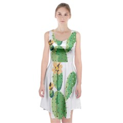 Cactaceae Thorns Spines Prickles Racerback Midi Dress by Mariart