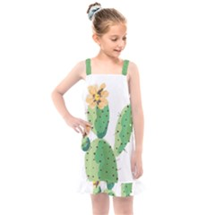 Cactaceae Thorns Spines Prickles Kids  Overall Dress by Mariart