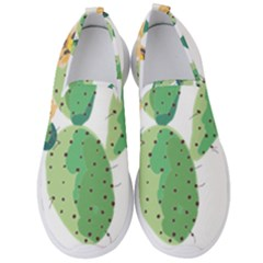 Cactaceae Thorns Spines Prickles Men s Slip On Sneakers by Mariart