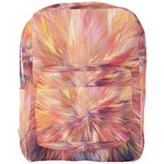 Color Background Structure Lines Full Print Backpack by Mariart
