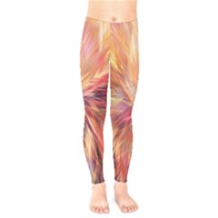 Color Background Structure Lines Kids  Legging by Mariart