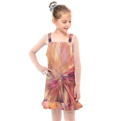 Color Background Structure Lines Kids  Overall Dress by Mariart