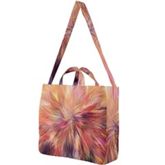 Color Background Structure Lines Square Shoulder Tote Bag by Mariart