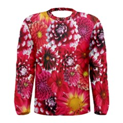 Blooming Men s Long Sleeve Tee