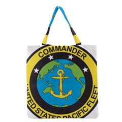 Seal Of Commander Of United States Pacific Fleet Grocery Tote Bag by abbeyz71