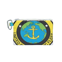 Seal Of Commander Of United States Pacific Fleet Canvas Cosmetic Bag (small) by abbeyz71