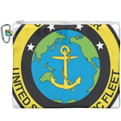 Seal Of Commander Of United States Pacific Fleet Canvas Cosmetic Bag (xxxl) by abbeyz71