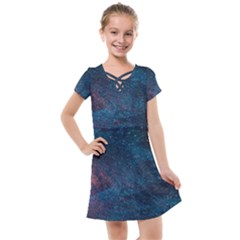 Cosmic Quest Kids  Cross Web Dress by WensdaiAddamns