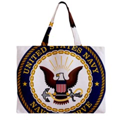 Seal Of United States Navy Reserve Mini Tote Bag by abbeyz71