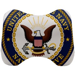 Seal Of United States Navy Reserve Head Support Cushion