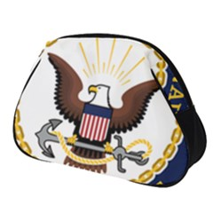 Seal Of United States Navy Reserve Full Print Accessory Pouch (small) by abbeyz71