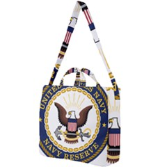 Seal Of United States Navy Reserve Square Shoulder Tote Bag by abbeyz71