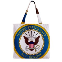 Seal Of United States Navy Reserve, 2005 2017 Grocery Tote Bag