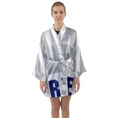 Seal Of United States Navy Reserve, 2005 2017 Long Sleeve Kimono Robe by abbeyz71