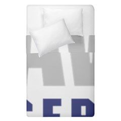 Logo Of United States Navy Reserve Duvet Cover Double Side (single Size)
