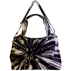 Burst Double Compartment Shoulder Bag by JezebelDesignsStudio