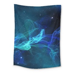 Electric Wave Medium Tapestry