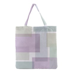 Abstract 21004 Grocery Tote Bag