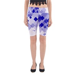 Geometric Yoga Cropped Leggings