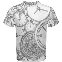 Time Goes On Men s Cotton Tee