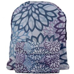Modern Floral Pop Giant Full Print Backpack