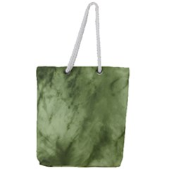 Marble Forest Full Print Rope Handle Tote (large)