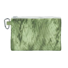 Marble Forest Canvas Cosmetic Bag (large)