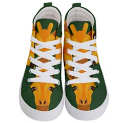 Giraffe Animals Zoo Kids  Hi Top Skate Sneakers