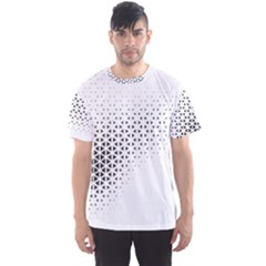 Geometric Abstraction Pattern Men s Sports Mesh Tee by Mariart
