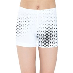 Geometric Abstraction Pattern Kids  Sports Shorts by Mariart