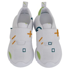 Geometry Triangle Line Kids  Velcro No Lace Shoes by Mariart