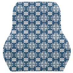 Flower Decorative Ornamental Car Seat Back Cushion  by Mariart