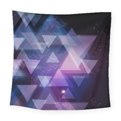 Geometric Triangle Square Tapestry (large)