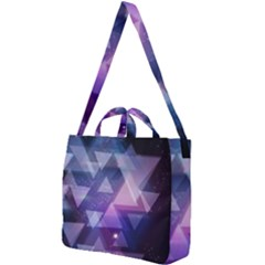 Geometric Triangle Square Shoulder Tote Bag by Mariart