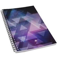 Geometric Triangle 5 5  X 8 5  Notebook by Mariart