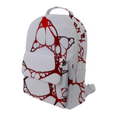 Fractals Cells Autopsy Pattern Flap Pocket Backpack (large) by Mariart