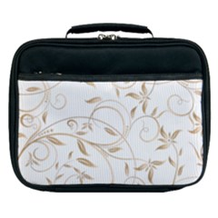 Floating Gold Elegant Pattern Lunch Bag