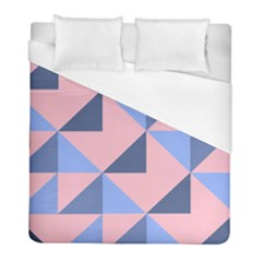 Fabric Geometric Cotton Texture Duvet Cover (full/ Double Size) by Jojostore