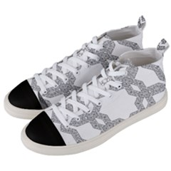 Encapsulated Men s Mid-top Canvas Sneakers by Jojostore
