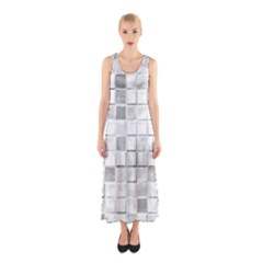 Diamonds Rectangle Sleeveless Maxi Dress