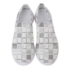 Diamonds Rectangle Women s Slip On Sneakers by Jojostore