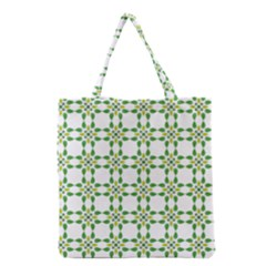 Flower Flourish Grocery Tote Bag