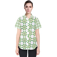 Flower Flourish Women s Short Sleeve Shirt by Jojostore