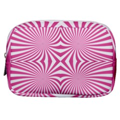 Hypnotic Psychedelic Abstract Ray Make Up Pouch (small)