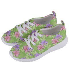 Lily Flowers Green Plant Women s Lightweight Sports Shoes by Alisyart