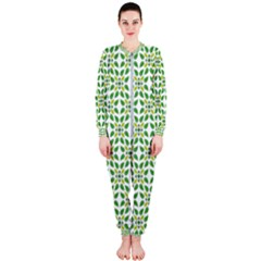 Leaf Leaves Flora Onepiece Jumpsuit (ladies)