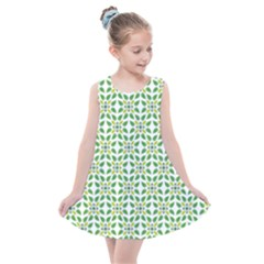Leaf Leaves Flora Kids  Summer Dress by Alisyart